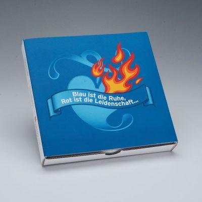 """Direct Mailing """"Einführung Herz-Logo"""" Zum Thema """"Leidenschaft im Druck"""""""
