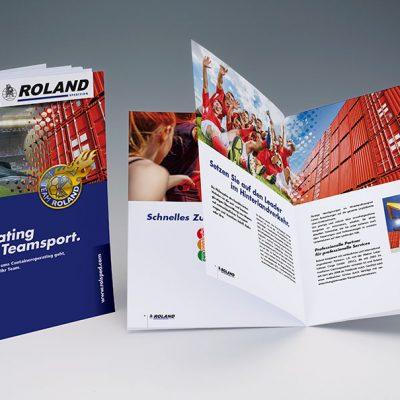 Imagefolder 12-seitig, Deutsch und Englisch