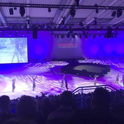 Foto der Halle am Tag der Veranstaltung