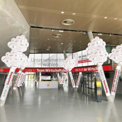 Vor-Visualisierung Dekoration Vorhalle